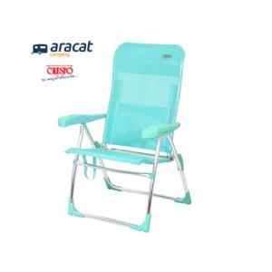 Silla Crespo AL/206, para tomar el sol en la playa, casa, jardín o camping