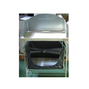 Mueble de acero para cocina de camping