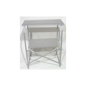 Mueble de aluminio para cocina de camping