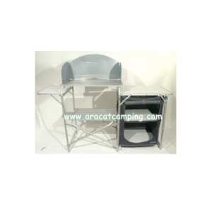 Mueble de aluminio plegable para camping