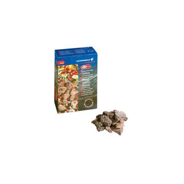 Piedras de lava para su utilización en barbacoas de gas