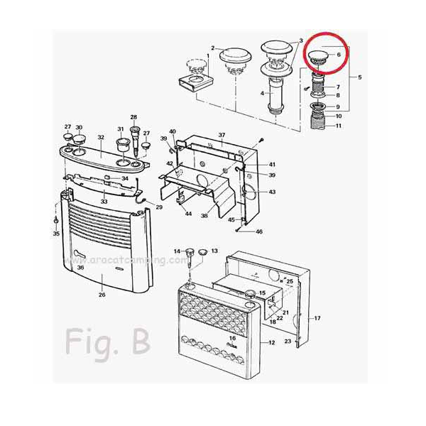 Recambios calefacciones Truma Trumatic
