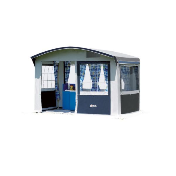 Tienda cocina de gran tamaño para el camping