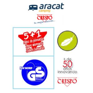 Aracat y Crespo calidad y garantía